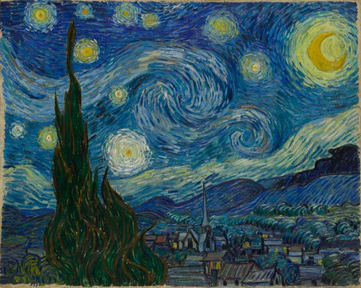 Van Gogh Painted His Iconic The Starry Night In 1889 While In An Asylum In Saint Remy One Of The Most Beautiful Things By The Painters Of This Century