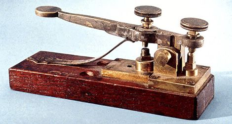 How the telegraph went from semaphore to communication game the telegraph key asfbconference2016 Choice Image