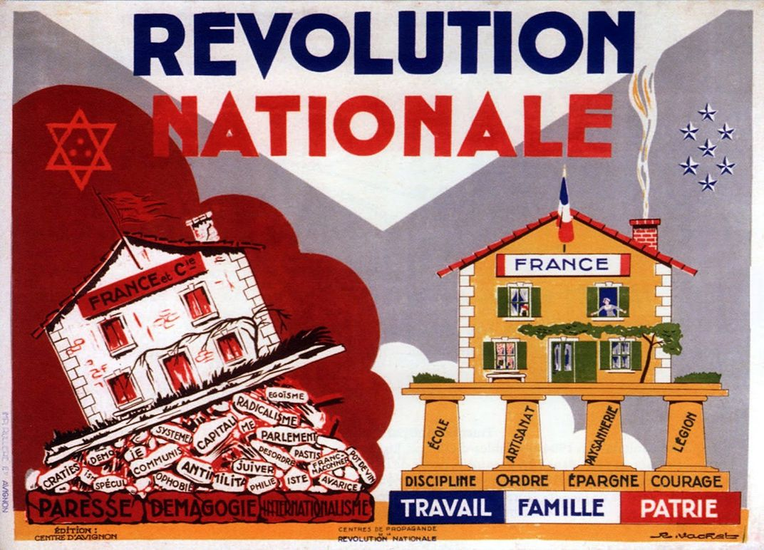 Was Vichy France a Puppet Government or a Willing Nazi