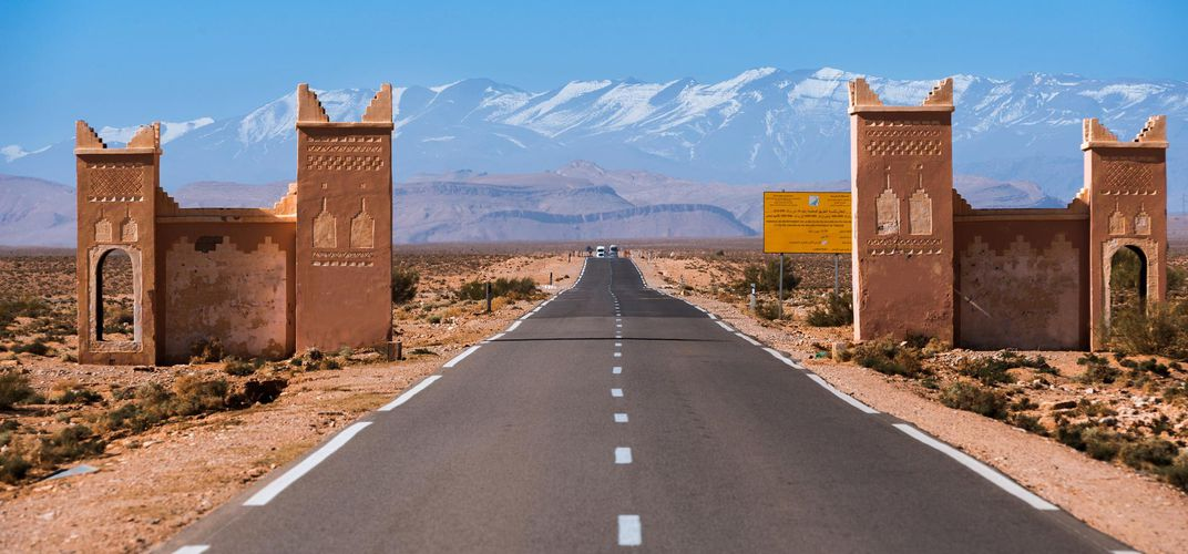Gateway to the Atlas Mountains