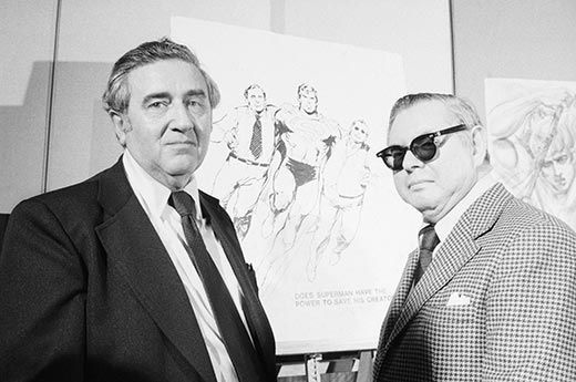The creation and history of superman by joe shuster and jerry siegel