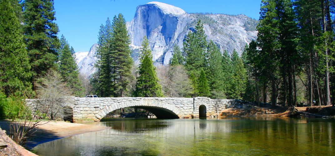 Yosemite's renowned Half Dome