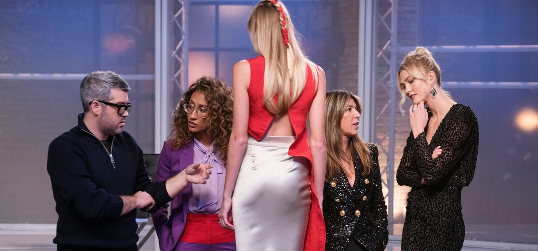 Caption: 'Project Runway' Is All About the Creative Process