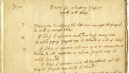 Unknown John Locke Manuscript Found at a College in Maryland