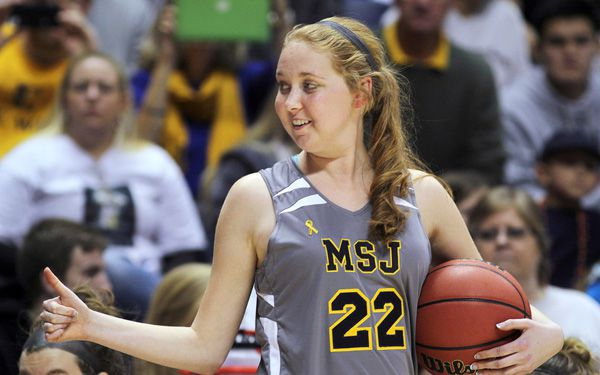 #22 Lauren Hill continues to inspire