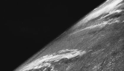 American Scientists Took the First Photo of Earth From Space Using Nazi Rockets