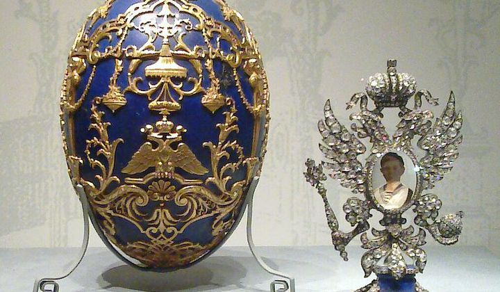Imperial Russia's Expensive Easter Gifts