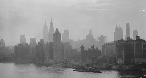 A view of 1930s New York