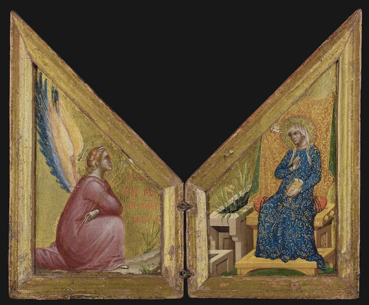 Paolo Veneziano, <em>The Annunciation</em>, about 1340–1345