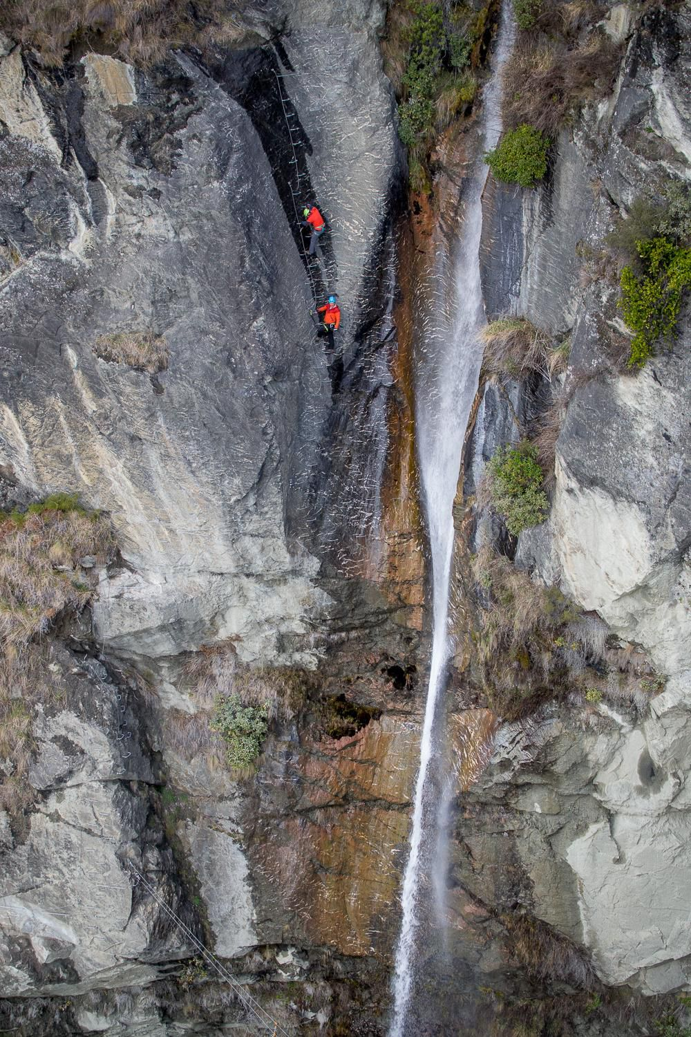Climb a 2,500-Rung Ladder Up New Zealand's Towering Twin Falls