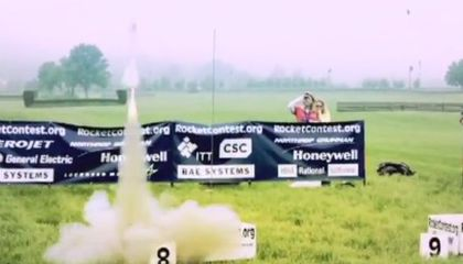 Student Rocketry Challenge Blasts Off