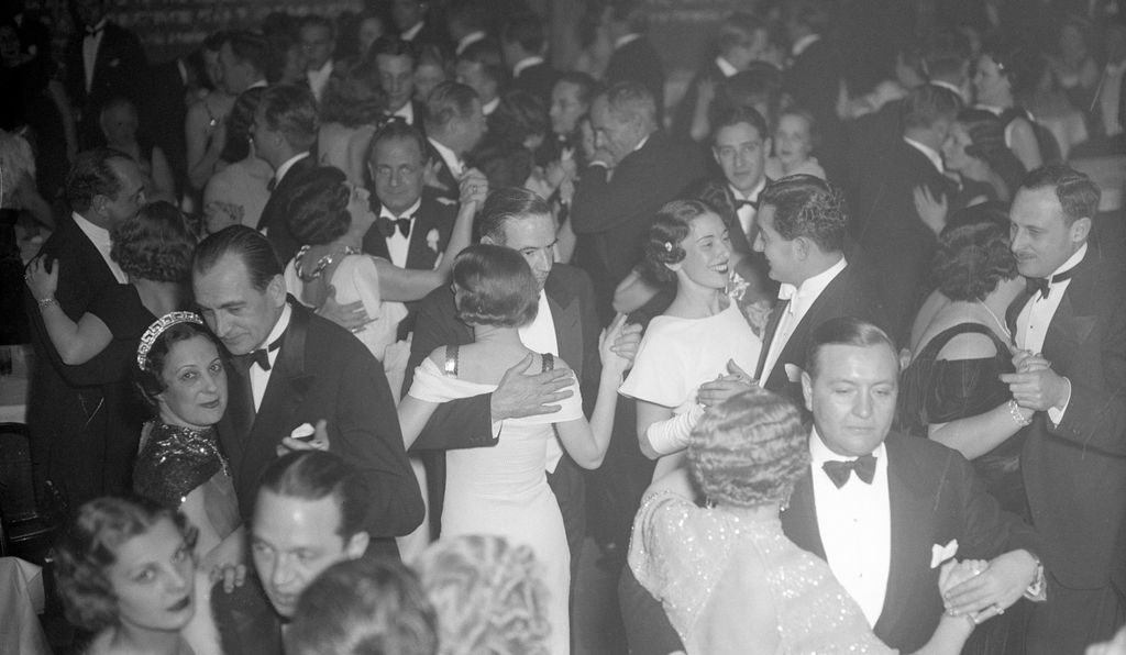 Couples dance during the Repeal Celebration at the Central Park Casino, December 6, 1933.