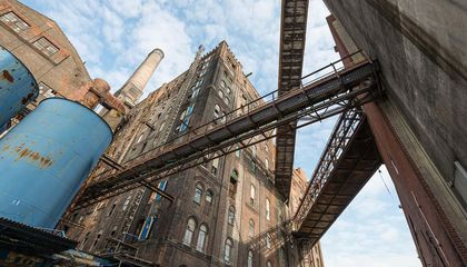 These Photos of the Abandoned Domino Sugar Refinery Document Its Sticky History