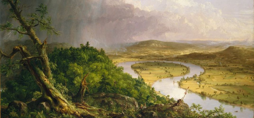 <i>View from Mount Holyoke</i> by Thomas Cole. Credit: Metropolitan Museum of Art