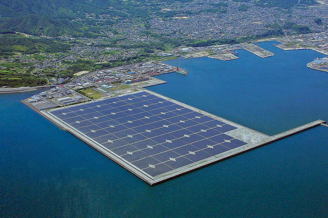 Is japan s offshore solar power plant the future of for Solar energy games