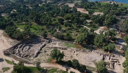 Enormous Roman Basilica Dated to King Herod's Reign Revealed in Israel