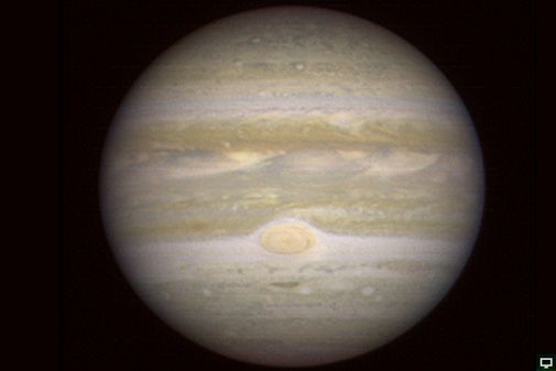 Jupiter as seen from the next planet out.
