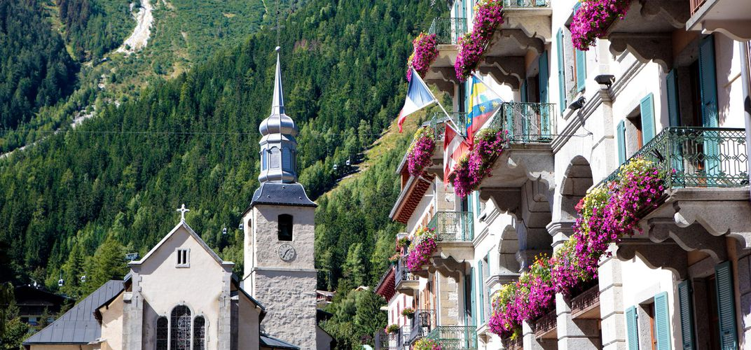Traditional architecture in Chamonix