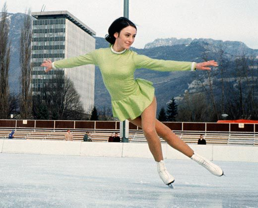 Peggy Fleming, Figure Skating
