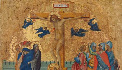 Fragments of Gold-Adorned, 14th-Century Triptych Reunited After Decades