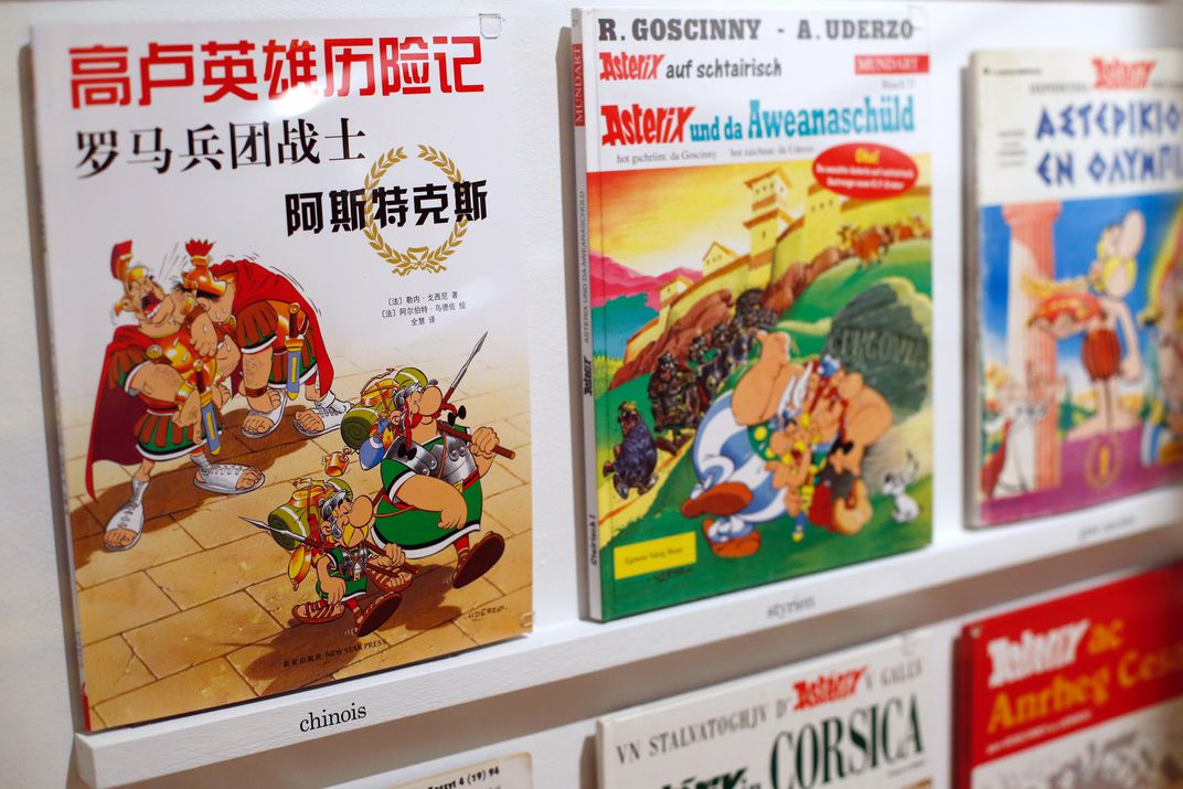 """Asterix"" book covers"