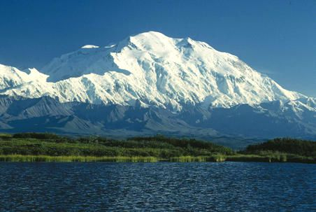 Denali is the highest peak in North America