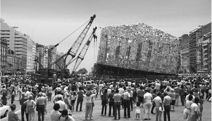 An Artist Is Building a Parthenon of Banned Books