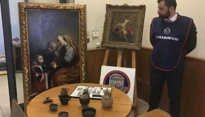 Professor Helps Bust Italian Art Theft Ring