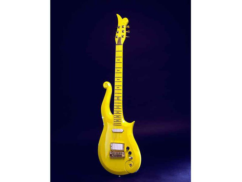 Prince's Yellow Cloud Electric Guitar
