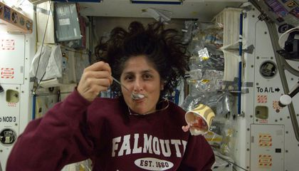 ISS Astronauts Get a Sweet Taste of Real Ice Cream
