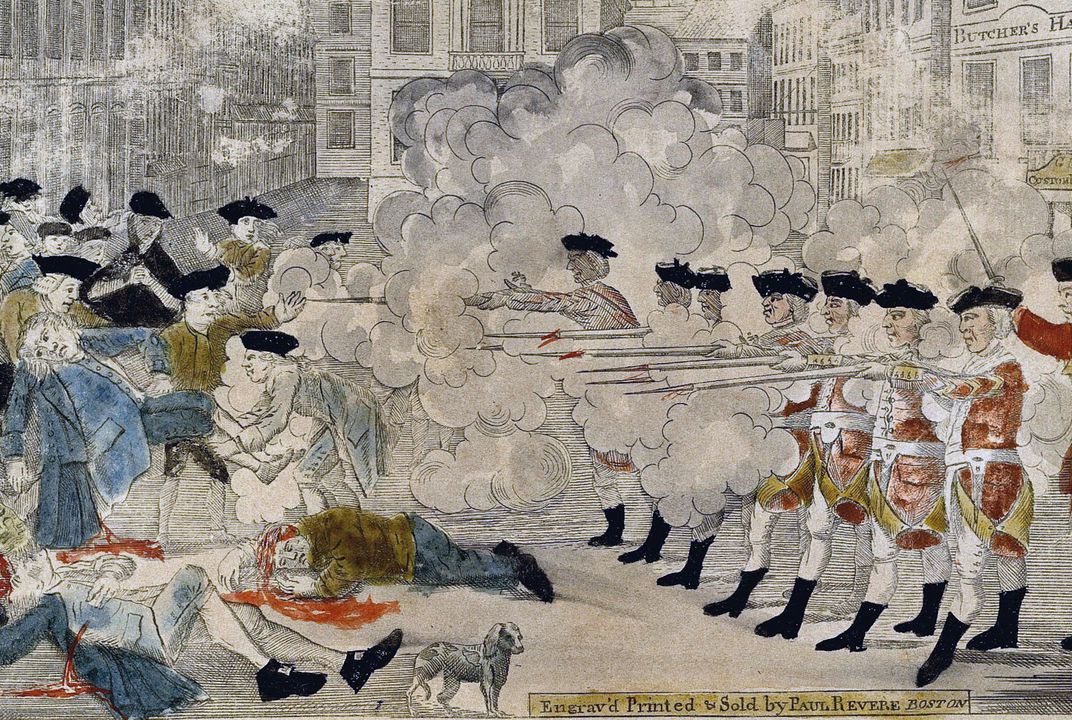 A Fresh Look At The Boston Massacre 250 Years After The Event That Jumpstarted The Revolution History Smithsonian Magazine