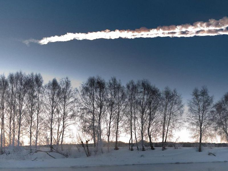 The Chelyabinsk meteor