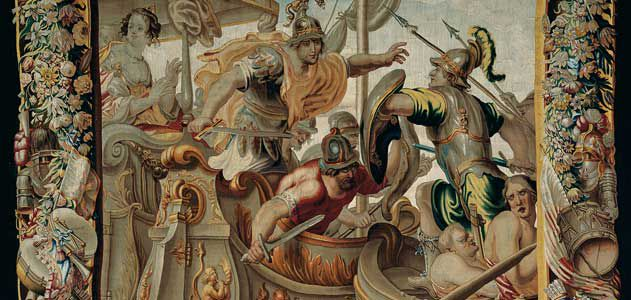 The Battle of Actium tapestry