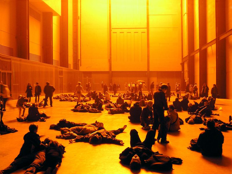 Ólafur Elíasson's The Weather Project, Turbine Hall of Tate Modern