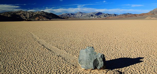 How Do Death Valley S Sailing Stones Move Themselves
