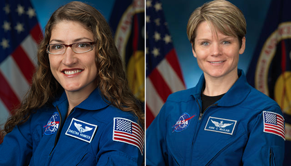 NASA Is Planning Its First All-Female Spacewalk