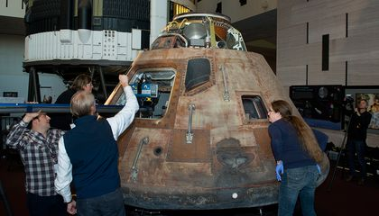 In Another Giant Leap, Apollo 11 Command Module Is 3D Digitized for Humankind