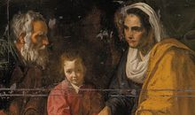 Velazquez The Education of the Virgin