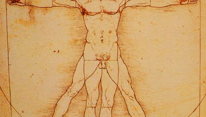 Da Vinci's Vitruvian Man May Not Have Been a Flawless Picture of Health