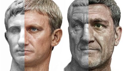 Peer Into the Past With Photorealistic Portraits of Roman Emperors