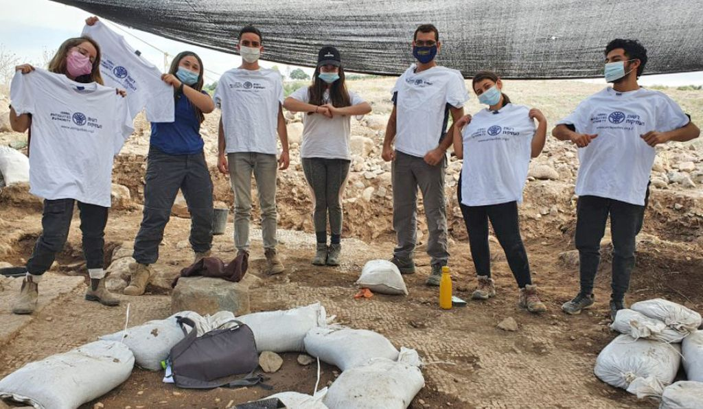 The excavation revealed the earliest evidence of a Christian church in the Jezreel Valley region.