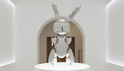 Jeff Koons' 'Rabbit' Breaks the Auction Record for Most Expensive Work by Living Artist