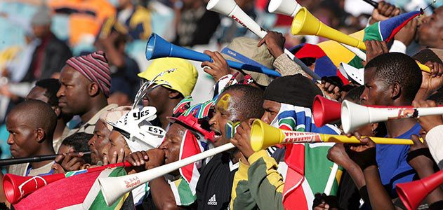 Vuvuzela in South Africa