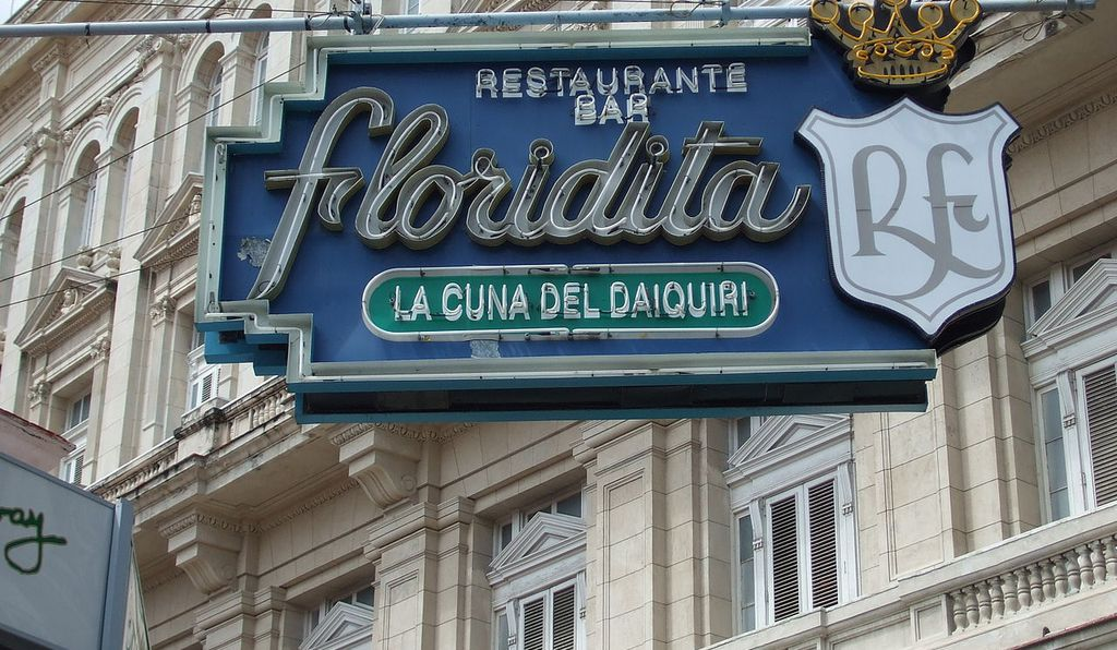 The Floridita, Hemingway's preferred daiquiri spot.