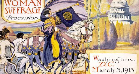1913 woman suffrage parade