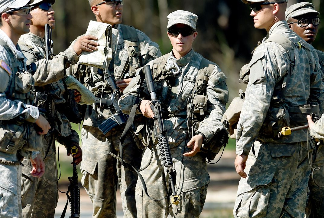 Army Rangers' first female soldiers make history
