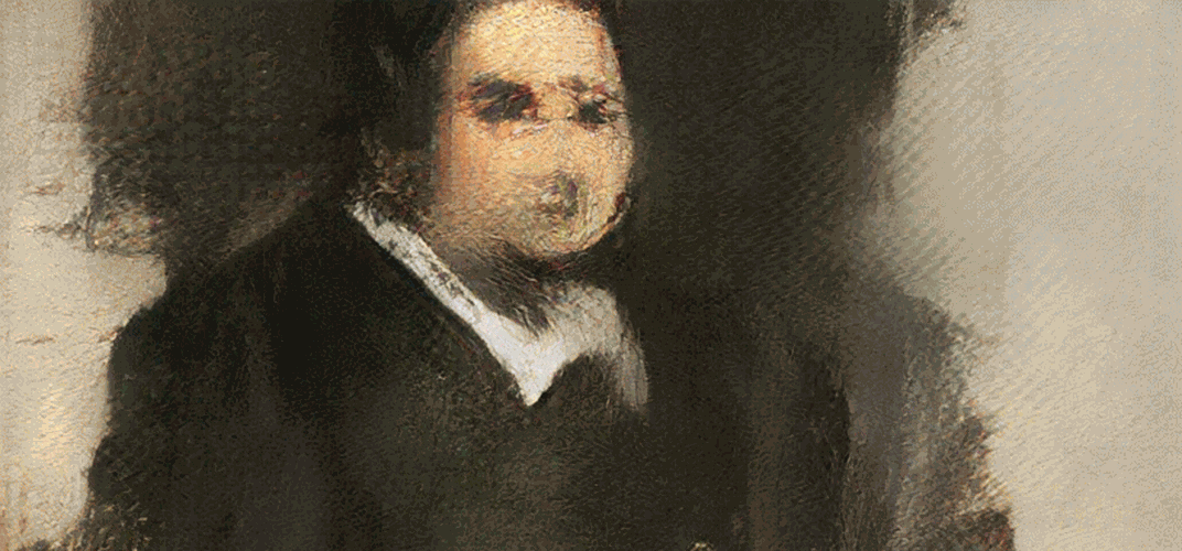 Caption: Christie's Will Sell AI-Generated Art
