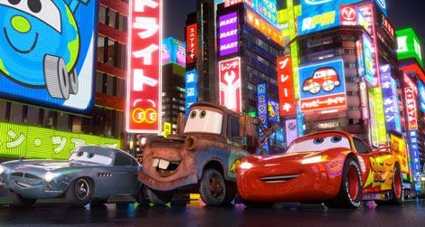 Still from Cars 2