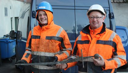 Medieval Sword, Blade Still Sharp, Pulled From Sewer in Denmark