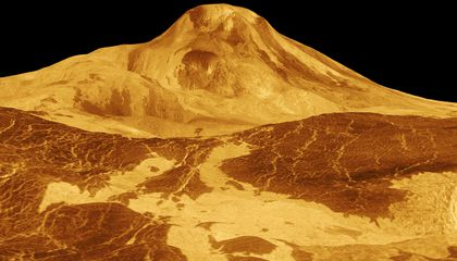 Active Volcanoes May Still Exist on Venus